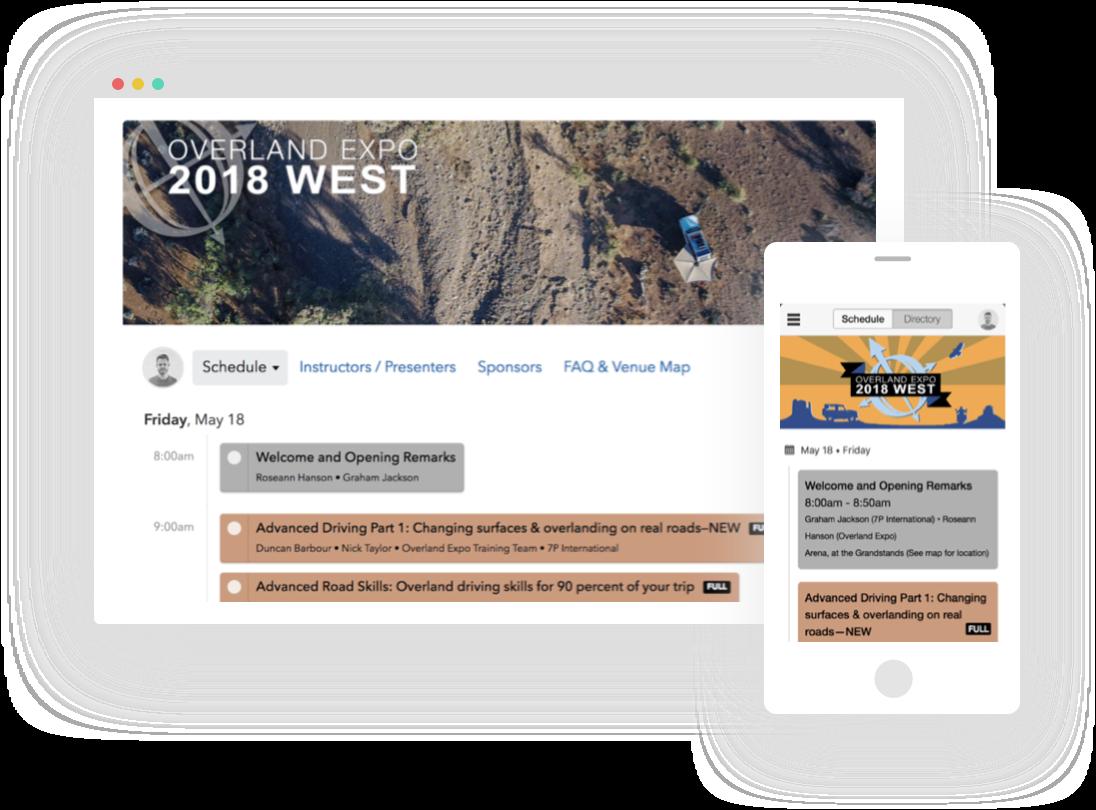 Event Schedule & Agenda Builder App - Sched