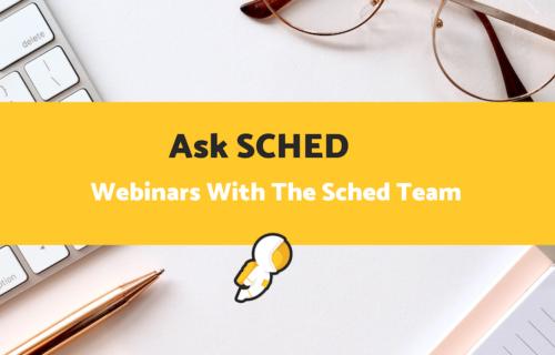 Ask Sched Webinar