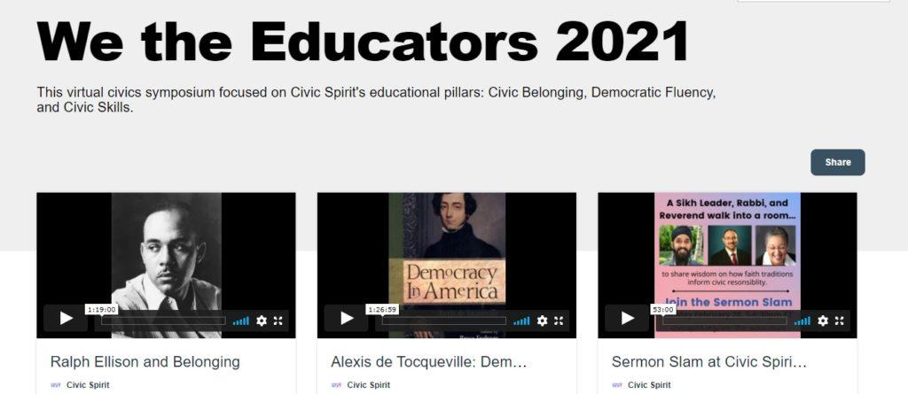 We The Educators